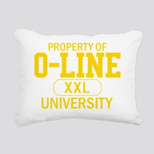 OLineU2 Rectangular Canvas Pillow
