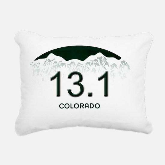 Half Marathon - 5x3 - Ov Rectangular Canvas Pillow