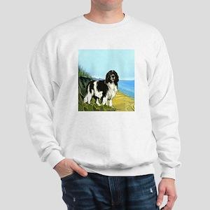 landseer on the beach Sweatshirt