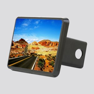 Valley of Fire Rectangular Hitch Cover