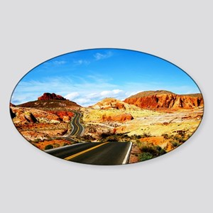 Valley of Fire Sticker (Oval)