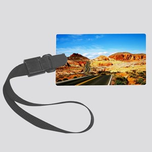 Valley of Fire Large Luggage Tag