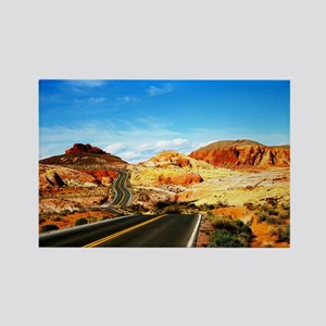 valley of fire magnets cafepress