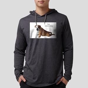 Bulldog in yoga pose Long Sleeve T-Shirt