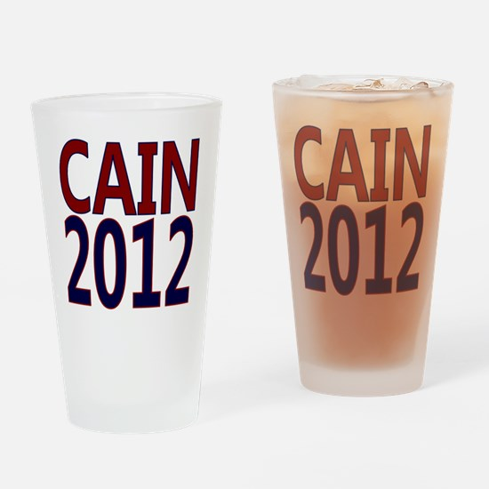herman cain square 1 Drinking Glass