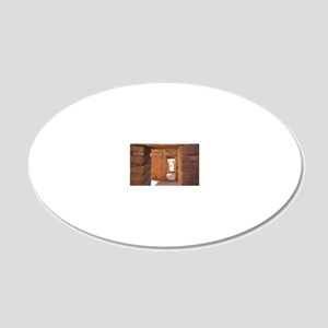 Through the Portals 20x12 Oval Wall Decal