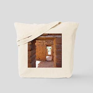 Through the Portals Tote Bag