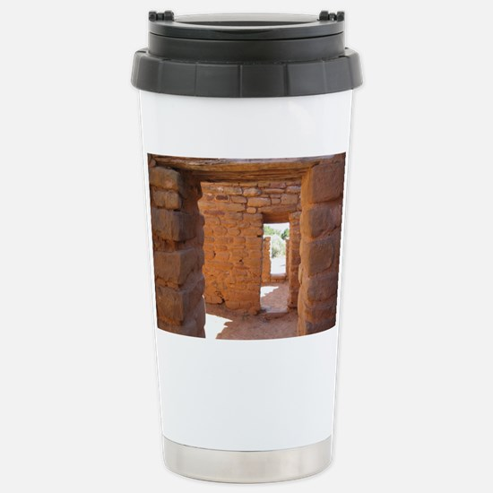 Through the Portals Stainless Steel Travel Mug