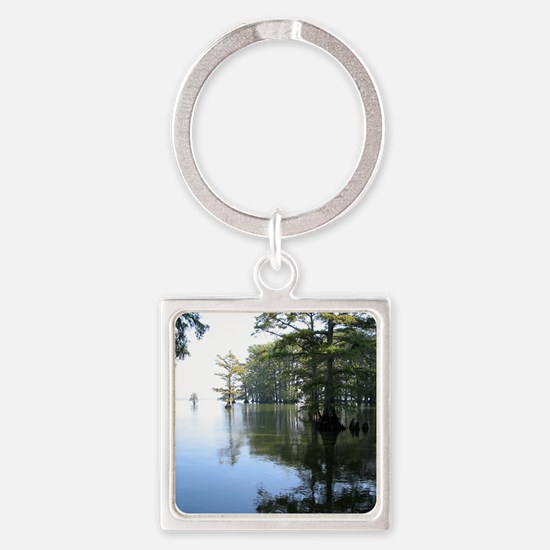 Reelfoot Reflection Square Keychain