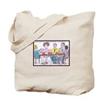 Big Heads and Pin Heads Tote Bag