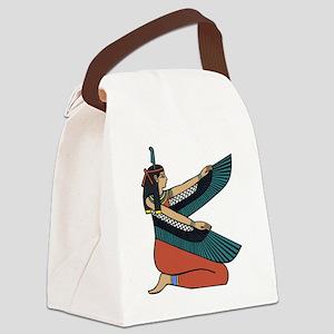 Egyptian Goddess Maat Canvas Lunch Bag