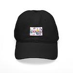 Big Heads and Pin Heads Black Cap