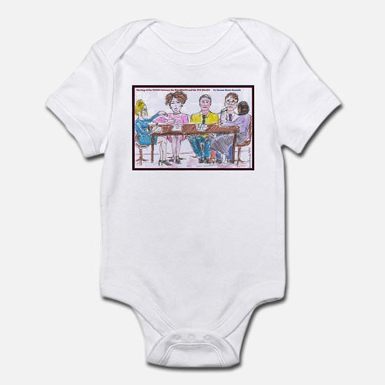 Big Heads and Pin Heads Infant Bodysuit
