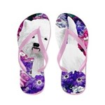 West Highland White Terrier Flip Flops