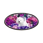 West Highland White Terrier Patch