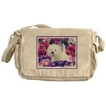 West Highland White Terrier Messenger Bag