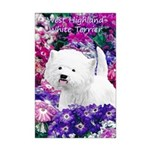 West Highland White Terrier Mini Poster Print