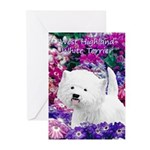 West Highland White Terr Greeting Cards (Pk of 20)