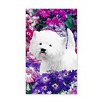 West Highland White Terrier 20x12 Wall Decal