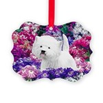 West Highland White Terrier Picture Ornament
