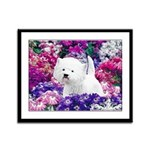 West Highland White Terrier Framed Panel Print