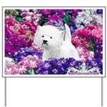 West Highland White Terrier Yard Sign