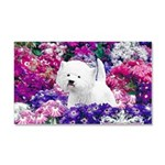 West Highland White Terrier Car Magnet 20 x 12