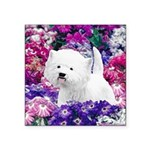 West Highland White Terrier Square Sticker 3