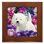West Highland White Terrier Framed Tile