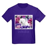 West Highland White Terrier Kids Dark T-Shirt