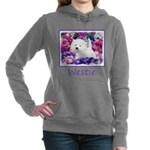 West Highland White Terr Women's Hooded Sweatshirt