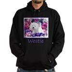 West Highland White Terrier Hoodie (dark)