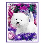 West Highland White Terrier Small Poster