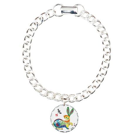 Rabbit Final_5_chop Charm Bracelet, One Charm