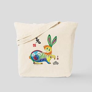Rabbit Final_5_chop Tote Bag