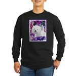 West Highland White Terri Long Sleeve Dark T-Shirt
