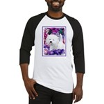 West Highland White Terrier Baseball Tee