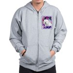 West Highland White Terrier Zip Hoodie