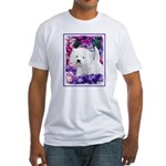 West Highland White Terrier Fitted T-Shirt