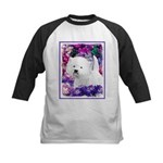 West Highland White Terrier Kids Baseball Tee