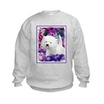 West Highland White Terrier Kids Sweatshirt