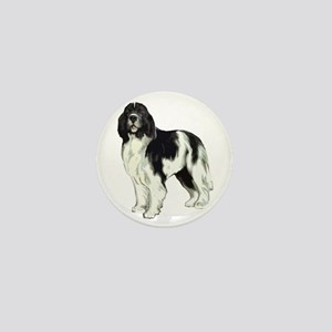 standing landseer2 Mini Button