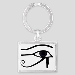 Right Eye Of Horus Landscape Keychain