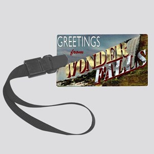 WONDERFALLS Large Luggage Tag