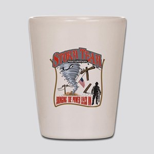 2011 Tornado Storm Cafe Press Shot Glass
