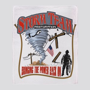 2011 Tornado Storm Cafe Press Throw Blanket