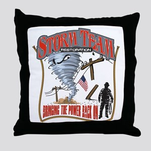 2011 Tornado Storm Cafe Press Throw Pillow