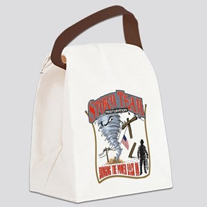2011 Tornado Storm Cafe Press Canvas Lunch Bag