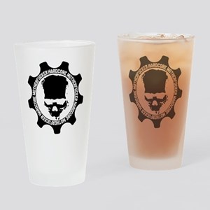 HARDCORE-MOTHERFUCKER-4-WHITE Drinking Glass