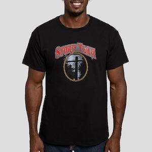 2011 Tornado Storm fro Men's Fitted T-Shirt (dark)